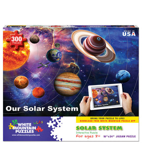Solar System Interactive Puzzle