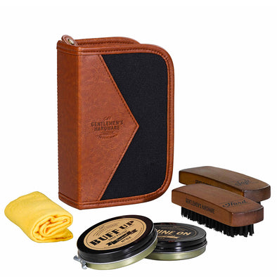 Gentlemen's Hardware Buff & Shine Shoe Polish Kit AGEN069