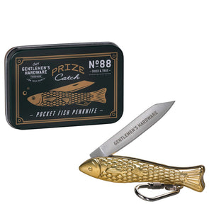 Gentlemen's Hardware Prize Catch Pocket Penknife AGEN088