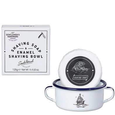 Gentlemen's Hardware Shaving Brush and Enamel Bowl AGEN063
