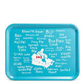 Funny Names Serving Trays