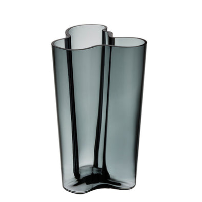 Aalto Collection Finlandia Vase | Dark Grey