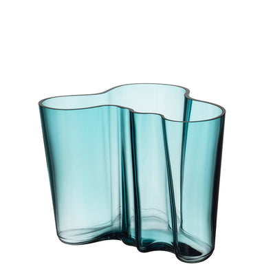 Aalto Collection Finlandia Vase | Sea Blue