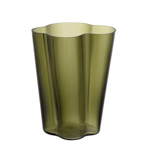 Aalto Collection Finlandia Vase | Moss Green