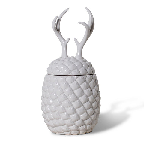 imm Living The Cha Cha Chas Pineapple Canister with Antlers KAS123-ANT