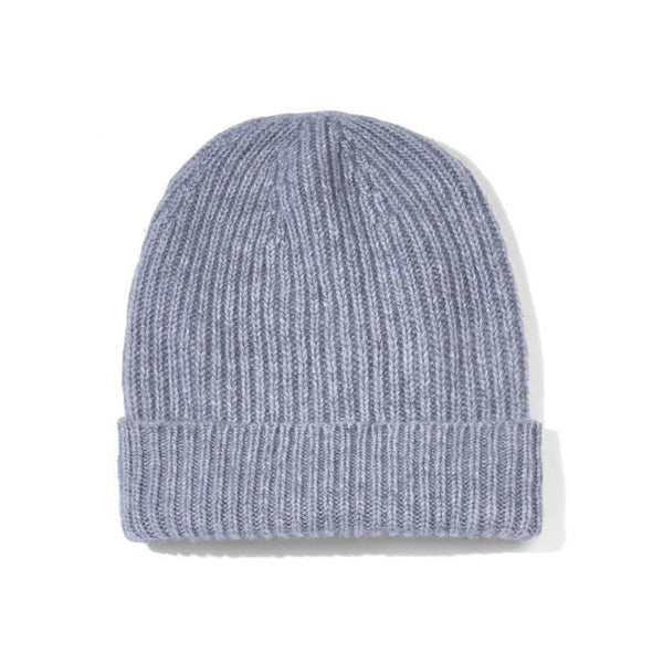 Cashmere hat grey
