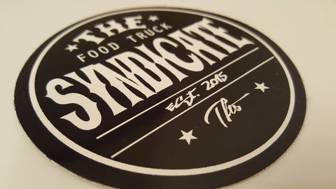 The Food Truck Syndicate - Syndicate Round Sticker