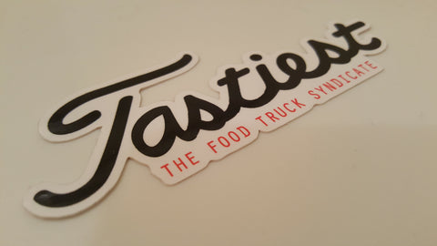 """NEW"" The Food Truck Syndicate XL Tastiest Sticker"