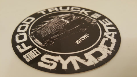 The Food Truck Syndicate - Syndicate Tiger Sticker