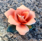 Capodimonte Porcelain Rose (more colors)