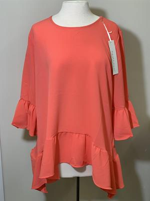 Plus Size Ruffled Top