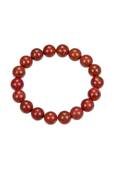 Red Jasper Stone Stretch Bracelets b1729