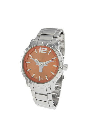 NCAA Officially Licensed University of Texas Longhorn Men's Watch