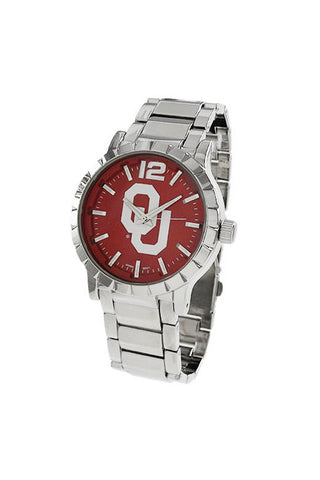 NCAA Officially Licensed University of Oklahoma Sooner Men's Watch