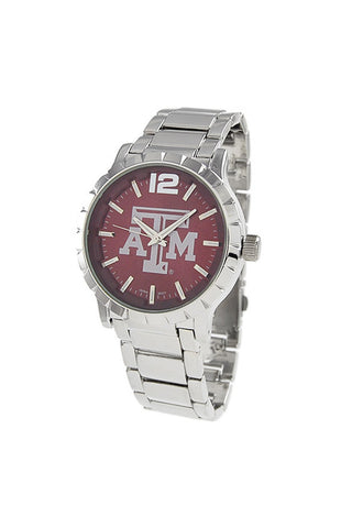 NCAA Officially Licensed Texas A&M University Men's Watch