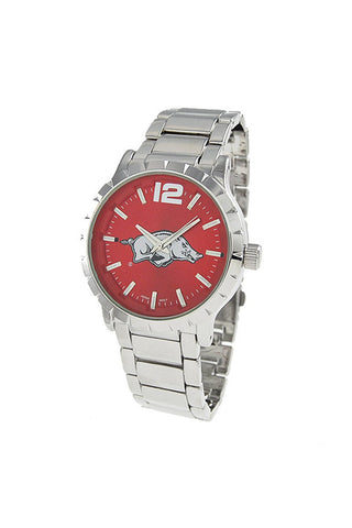 NCAA Officially Licensed University of Arkansas Men's Watch