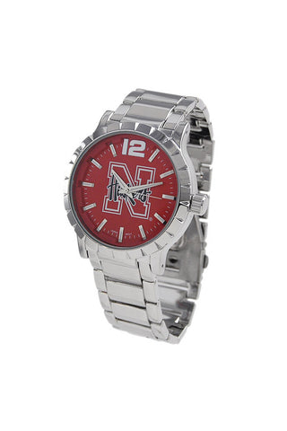 NCAA Officially Licensed University of Nebraska Men's Watch