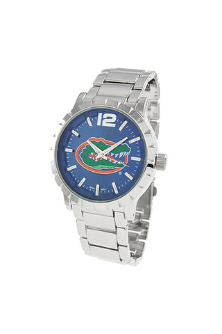 NCAA Officially Licensed University of Florida Men's Watch