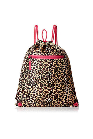 Drawing Leopard Pattern Backpack Bags