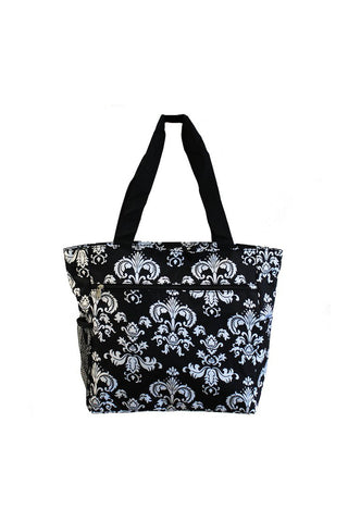 JChronicles Damask II Beach Tote Bags