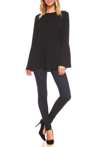 Women's Bell Sleeve Top