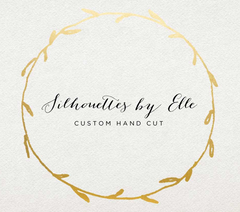 Custom Portrait Silhouettes by Elle