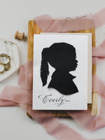 Custom listing - Silhouettes by Elle