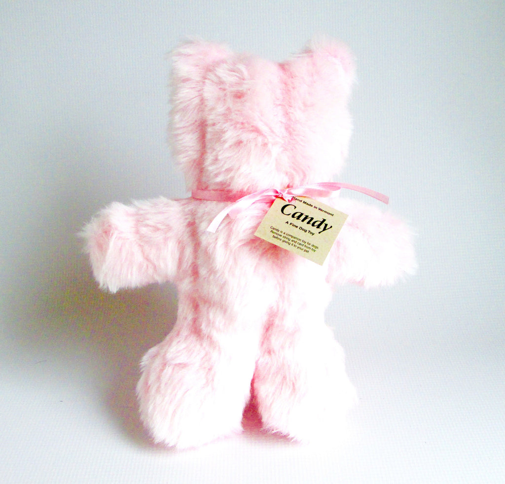 Candy Pink Teddy Bear - The Shabby Dogs
