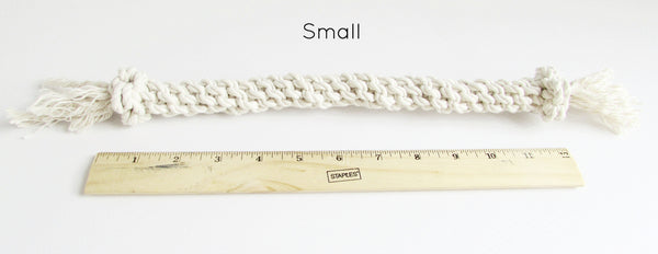 Hand Knotted Rope Sticks - The Shabby Dogs