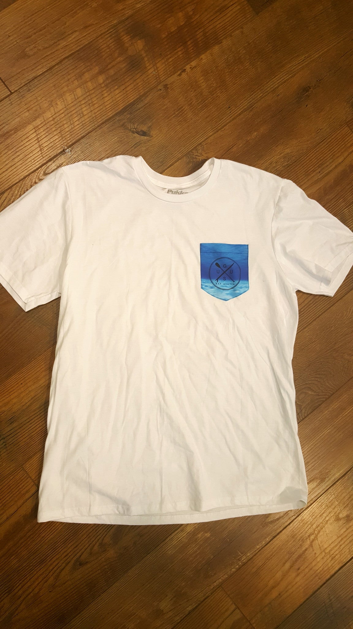 "GUSU T-shirt  ""Pocket Logo"""