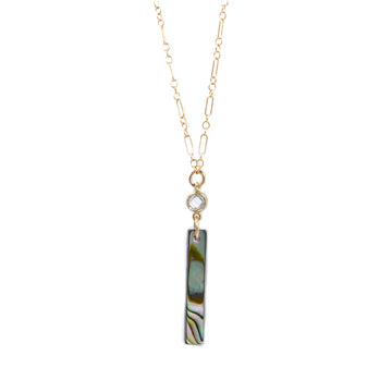 Maria Necklace | Abalone