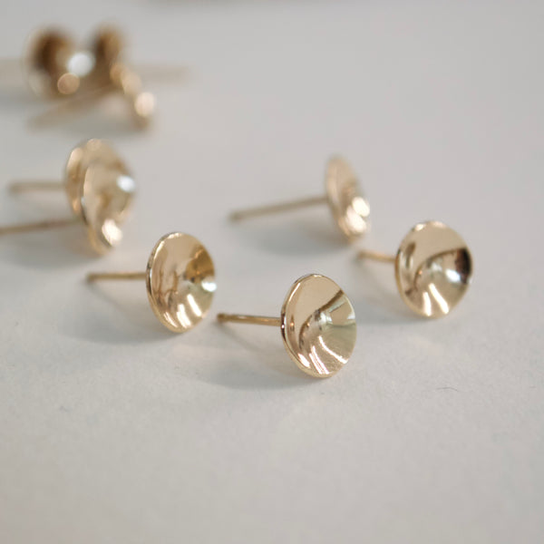 Ace Studs | 14k Solid Gold
