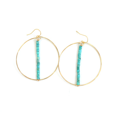 BBC Classic Hoops | Turquoise