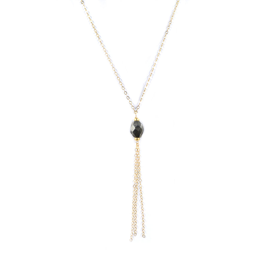 Drew Necklace | Pyrite