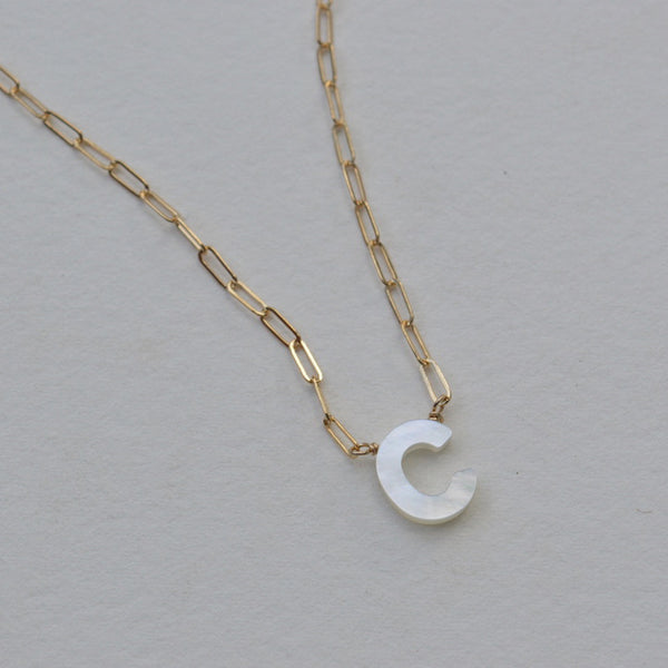Sierra Letter Necklace