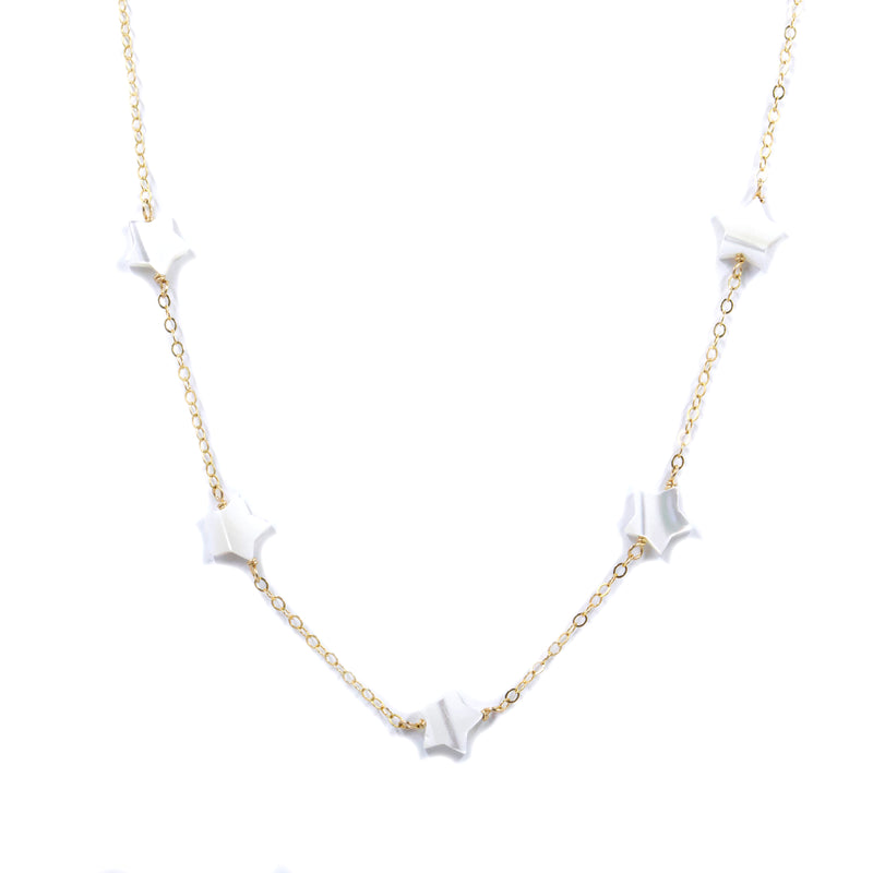 Shooting Star Choker | Mother of Pearl