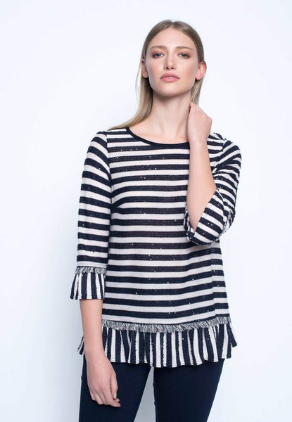 Sparkle Striped Top