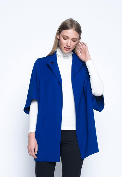 Sapphire Cocoon Jacket