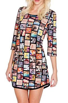 Adore 'Picture It' Tunic