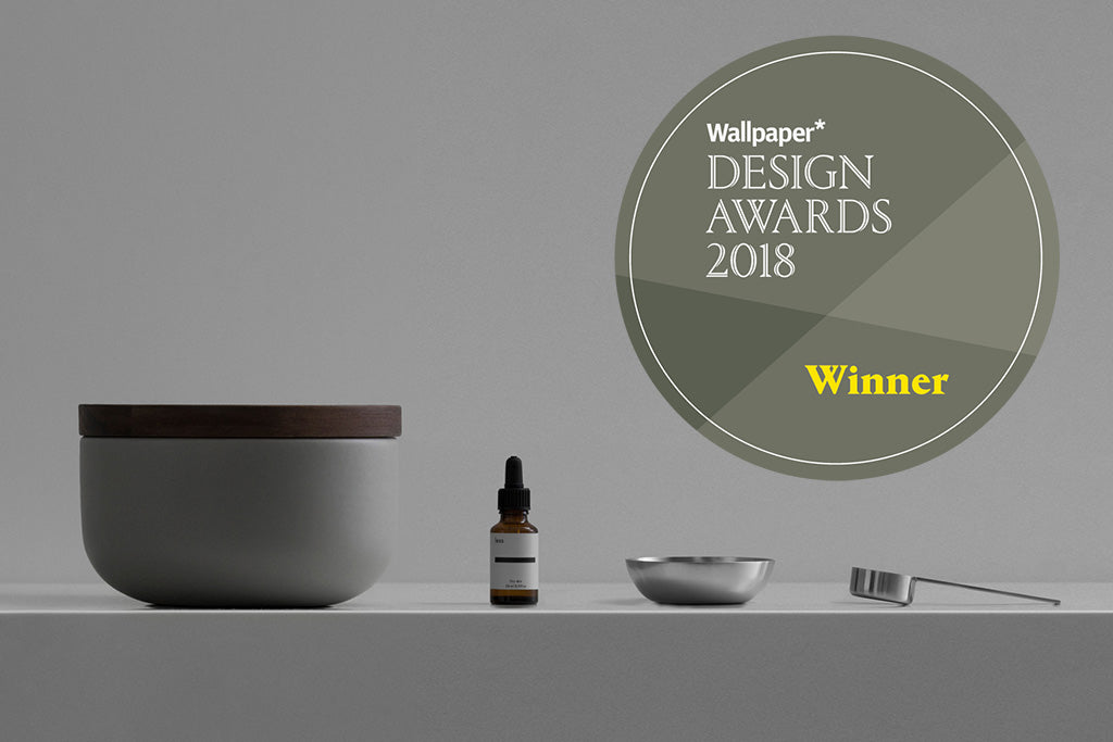 Less gewinnt Wallpaper Design Award