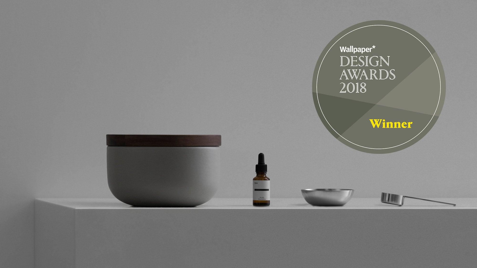 Less Wallpaper Design Award Grooming Product