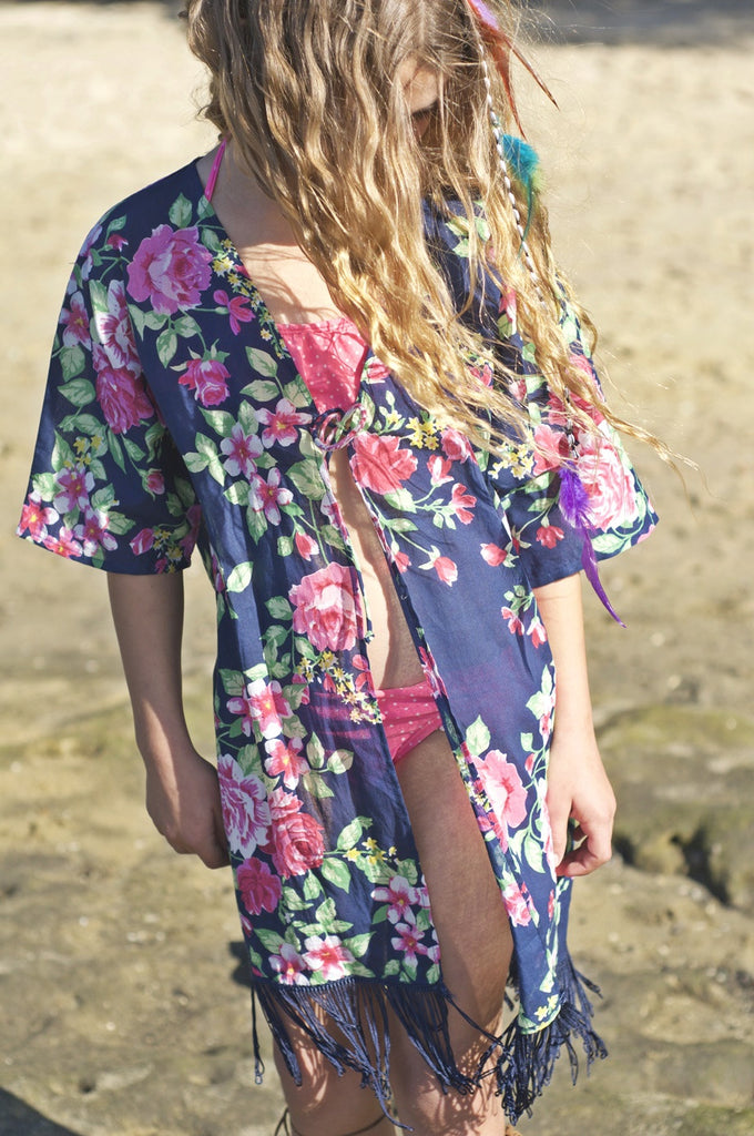 TUNIC, DOLLY FLORAL - blaze + wander™