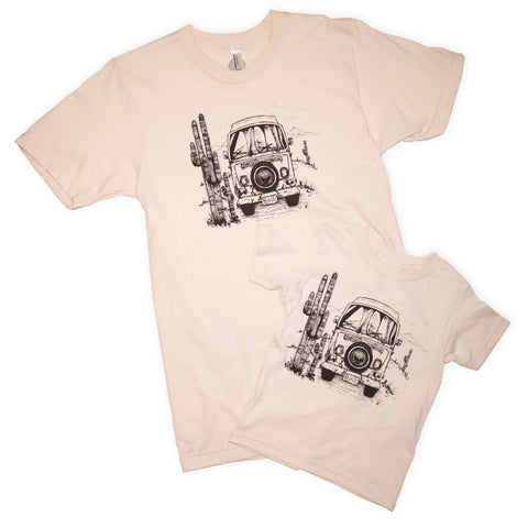 ROAD TRIP T-SHIRT, ADULTS