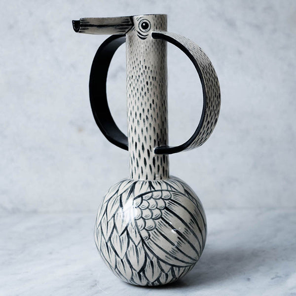 Bird Jug with Big Handles