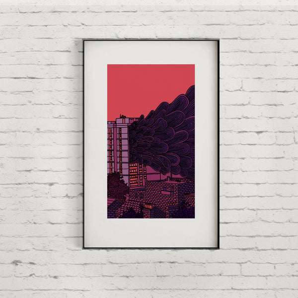 Bow Fire Limited Edition Giclée Print