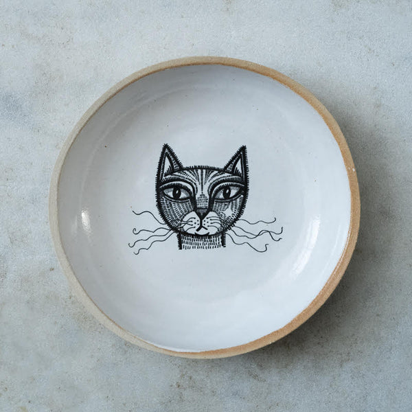 Cat Bowl (Natural Millbank)