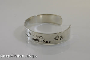 Best Friend Bracelet - A best friend is God's way... - Purple Pelican Designs