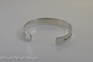 Beatles inspired bracelet - And in the end the love you take is equal to the love you make