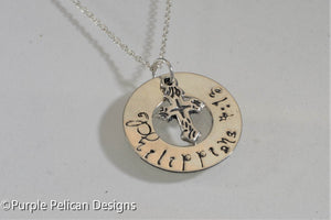 Bible Verse Necklace - Customized