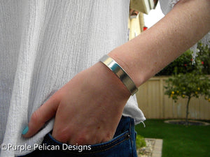 Special Ed Teacher's Cuff Bracelet - It Takes Someone Special To Teach Someone Special - Purple Pelican Designs